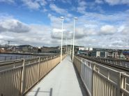 40 Tay road Bridge in Richtung Dundee