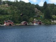 57 unterwegs in Egersund